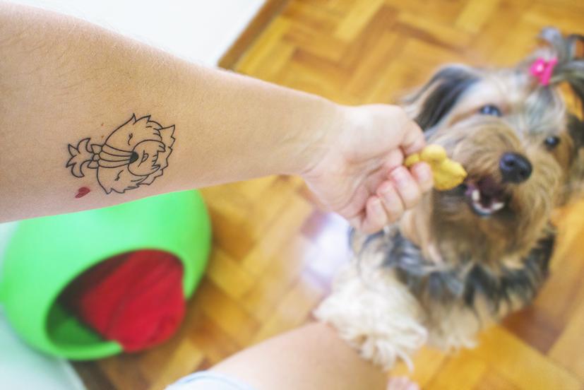 Fazendo minhas primeiras tatuagens!