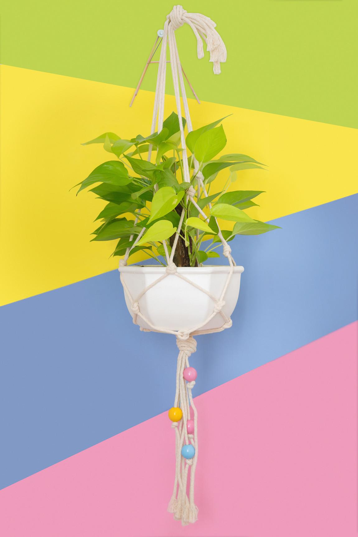 DIY – Suporte para vaso