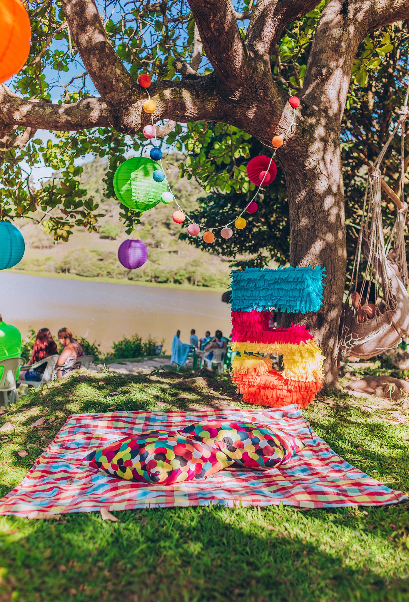 festa colorida party